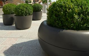Decorative Modern Balcony Patio Garden Planters And Plant Pots