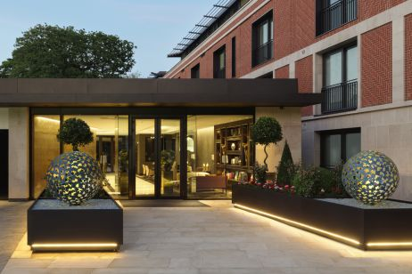 high end residential planters