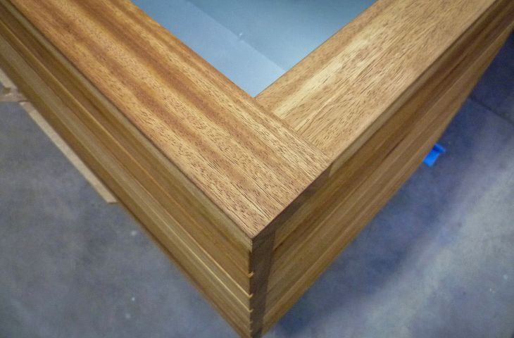 High end timber planters
