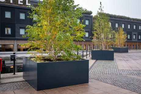 Good Hotel street tree planters