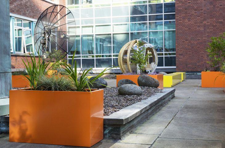 RAL 2003 [Pastel orange] for Manchester University