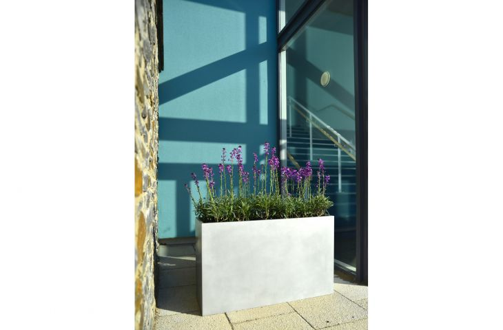 Aluminium Trough High planter L 1200 x W 300 x H 600mm