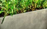 Close-up or raw aluminium finish