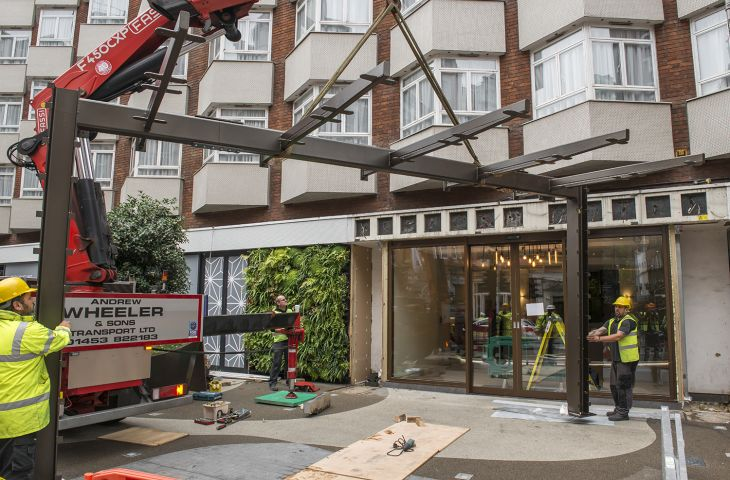 structural_steelwork_hotel_frontage_Bedford_Hotel