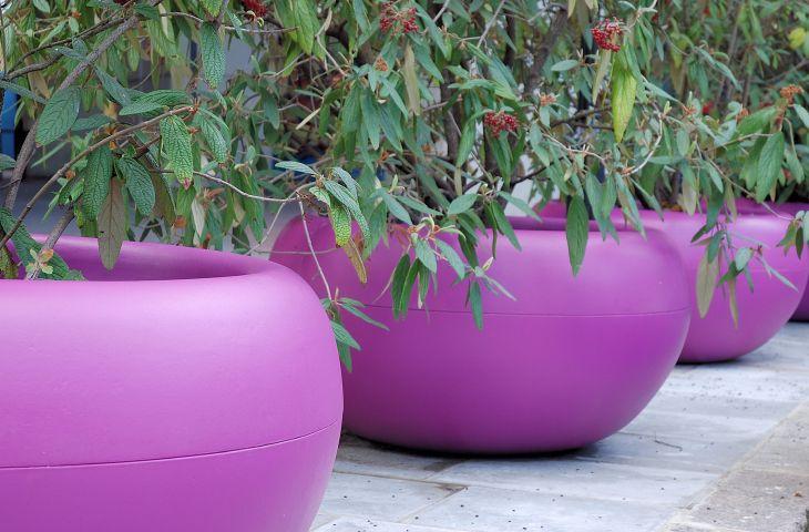 ALADIN 138cm planter in RAL 4008 [Signal Violet]
