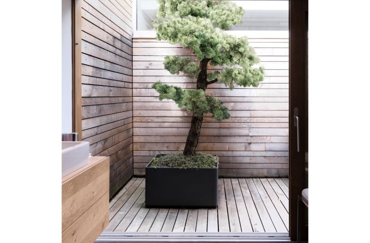 DELTA CUSTOM planters are sleek, uber-modern, and yet also highly functional