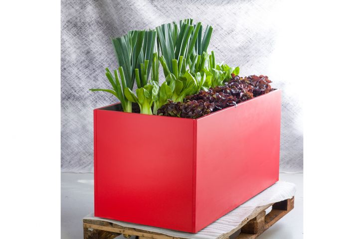 DELTA CUSTOM planters are made from a densely-compressed Fibre Reinforced Cement [FRC] board