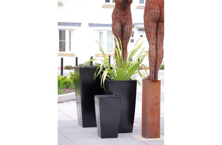Selection of GRP planters from IOTA