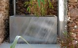Trough planter L 1000 x W 550 x H 600mm in hot dipped galvanized finish
