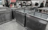 Lead planter manufacture