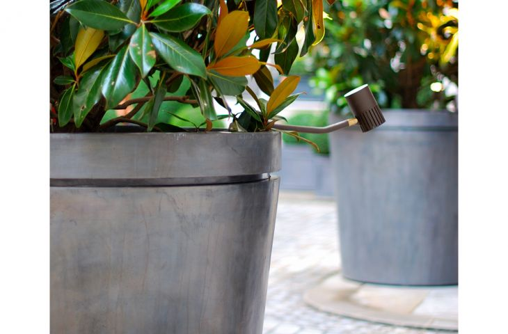 Close up of planters