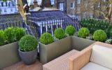 Planters are often commissioned to edge a terrace or balcony