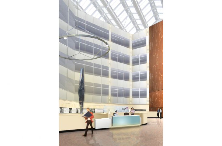 Spearhead 4000 in CAD proposal for RSA headquarters