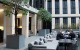Bespoke IOTA granite planters at Grosvenor House Apartments