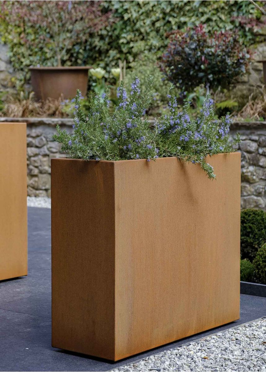 Rectangle Planter Box Corten Steel