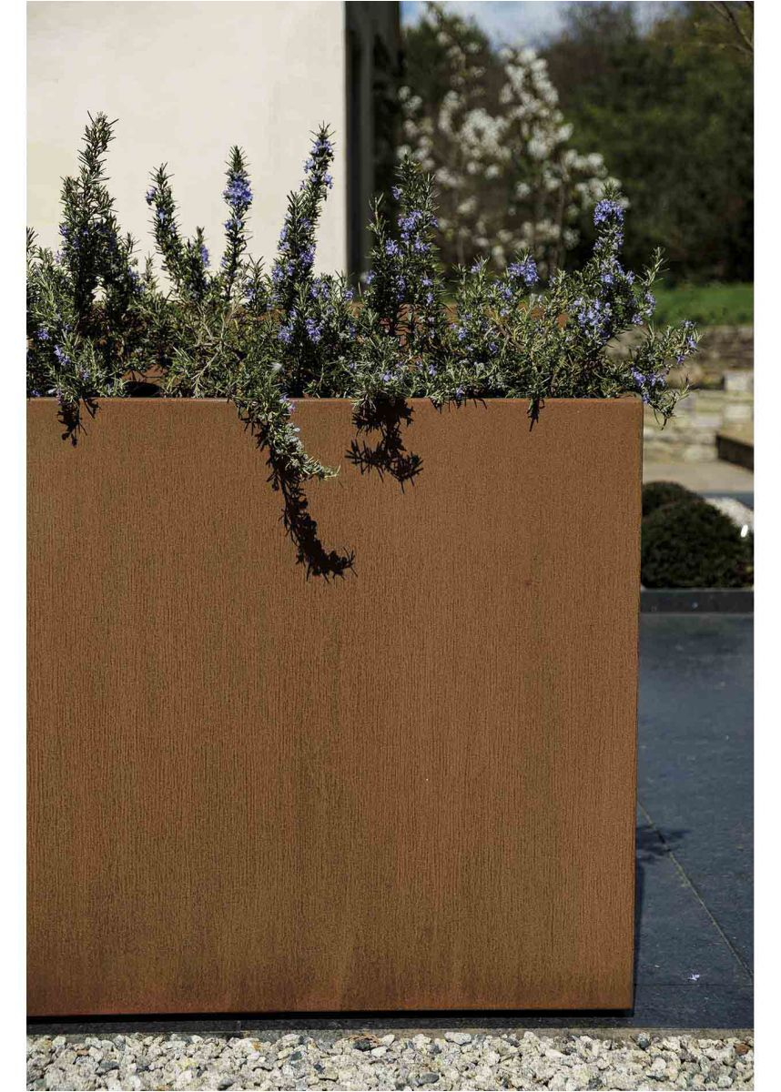 Corten Steel Alloy Garden Planter