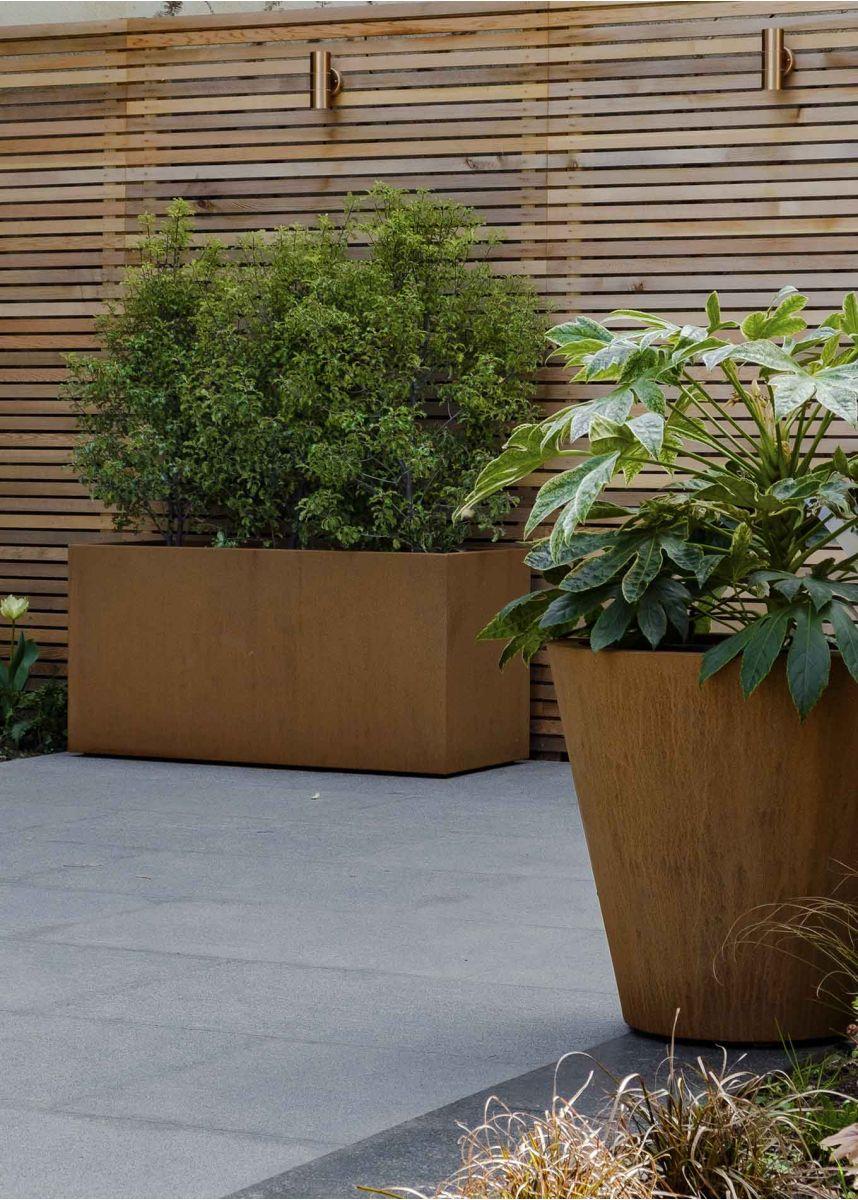 Corten Garden Planters
