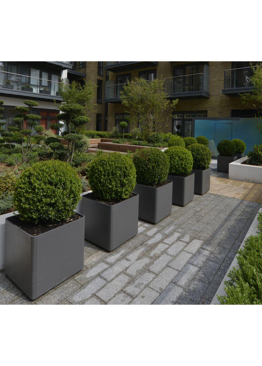 FRC lightweight cube plant pots