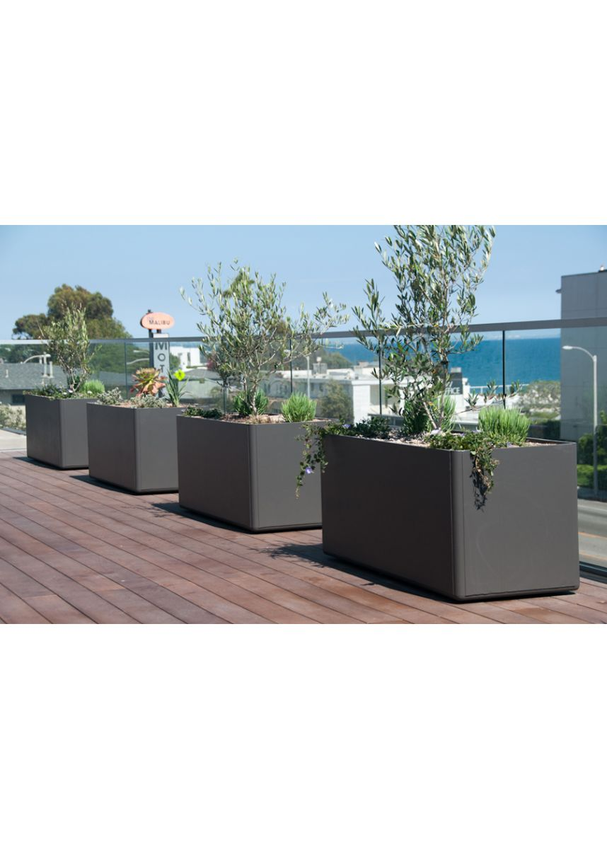 FRC lightweight trough planters