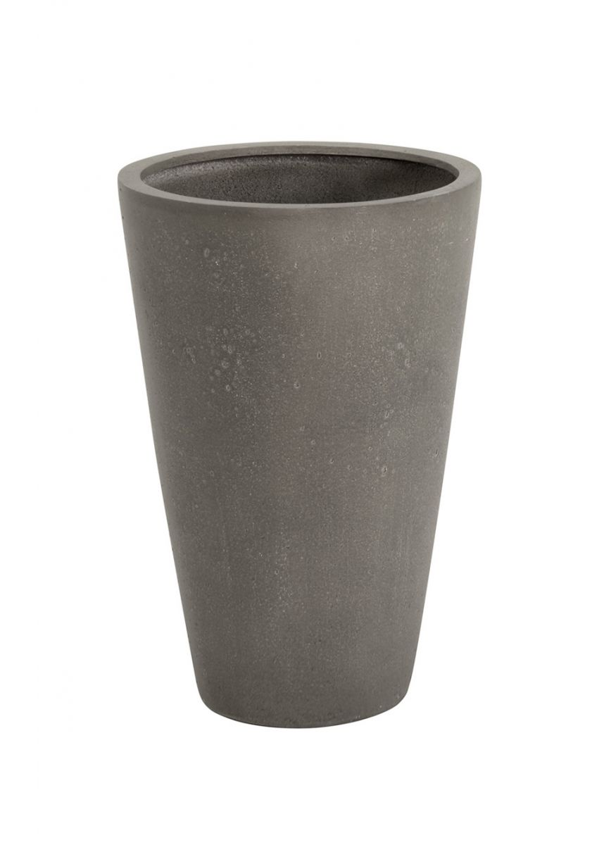Conical Grey Garden Planter