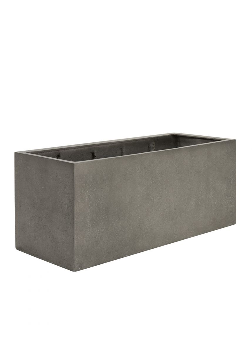 Mid-Grey Trough Planters