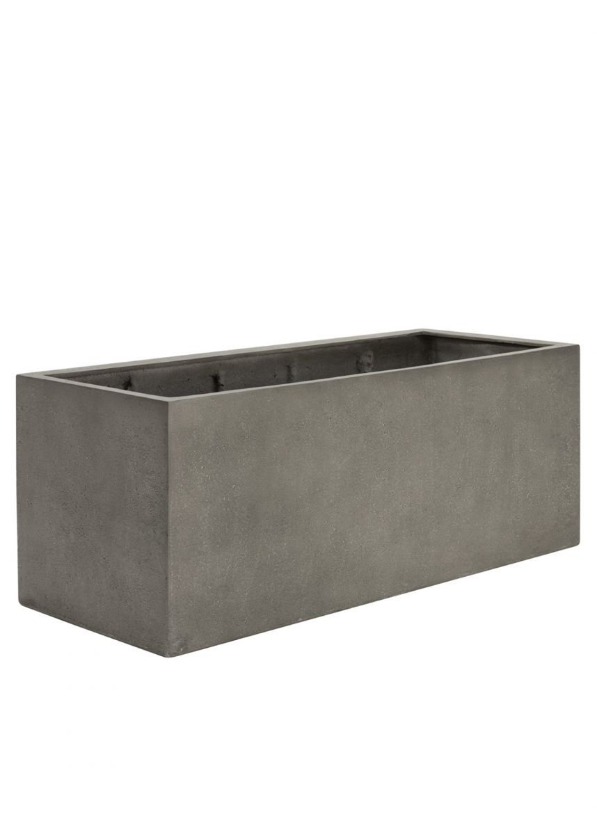 Mid-Grey Extra Large Trough Planters