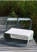 FRC Designer Low Stool and Table