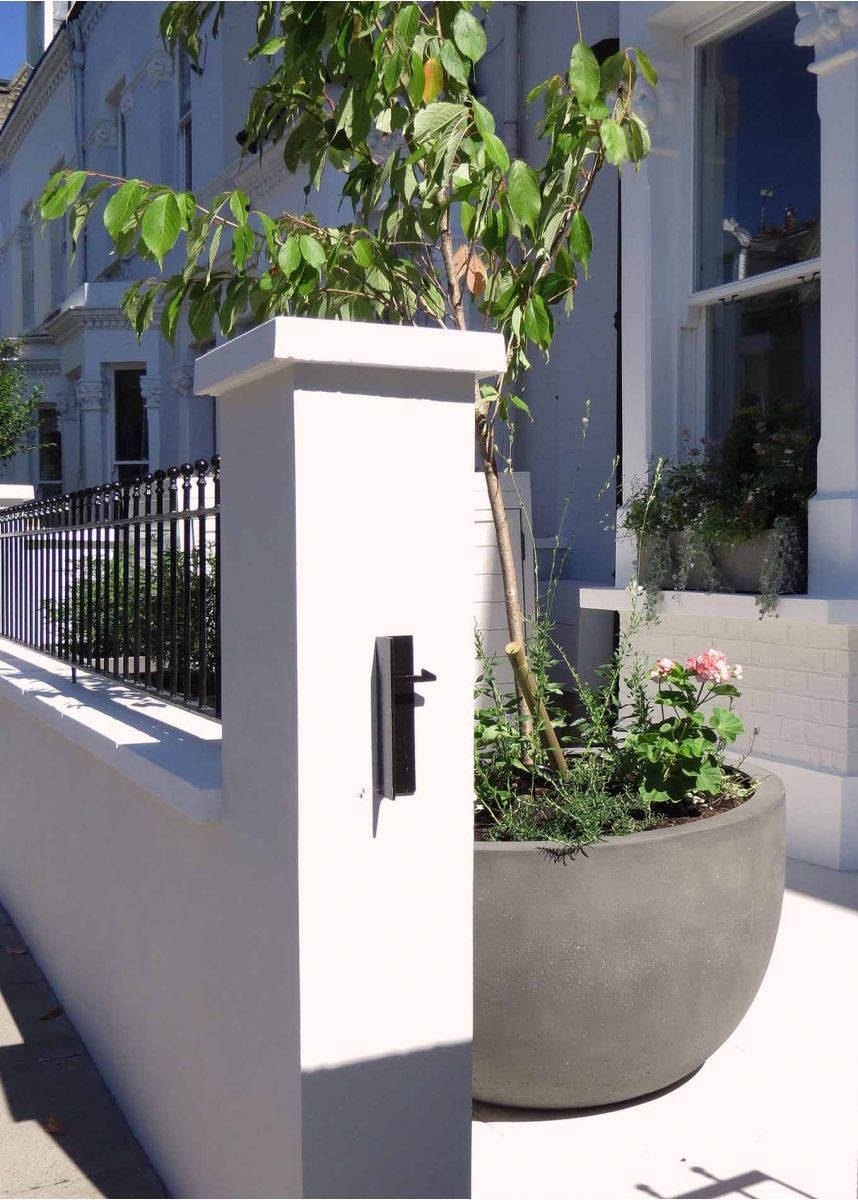 Planter for a small tree
