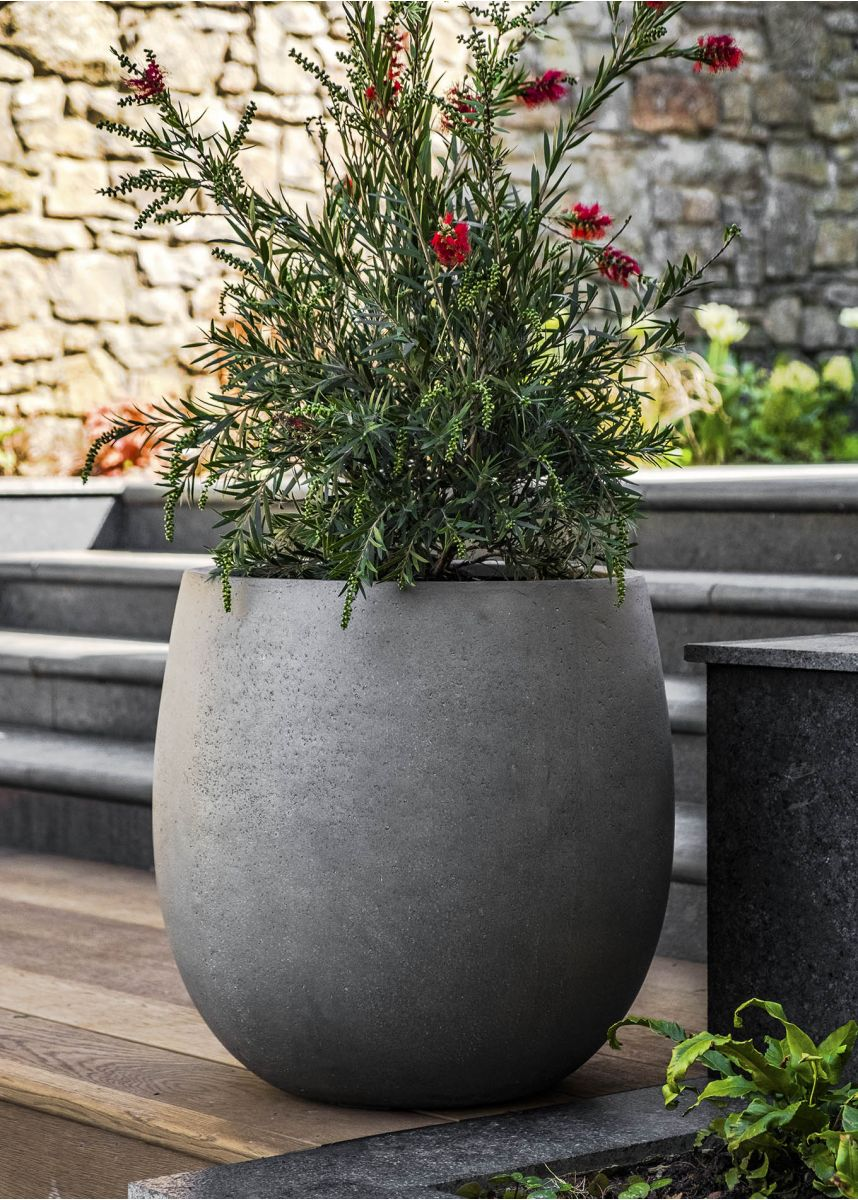 Round Bottom Garden Planter Pot