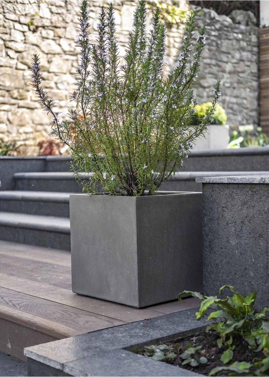 Cube Shaped Garden Plant Pots