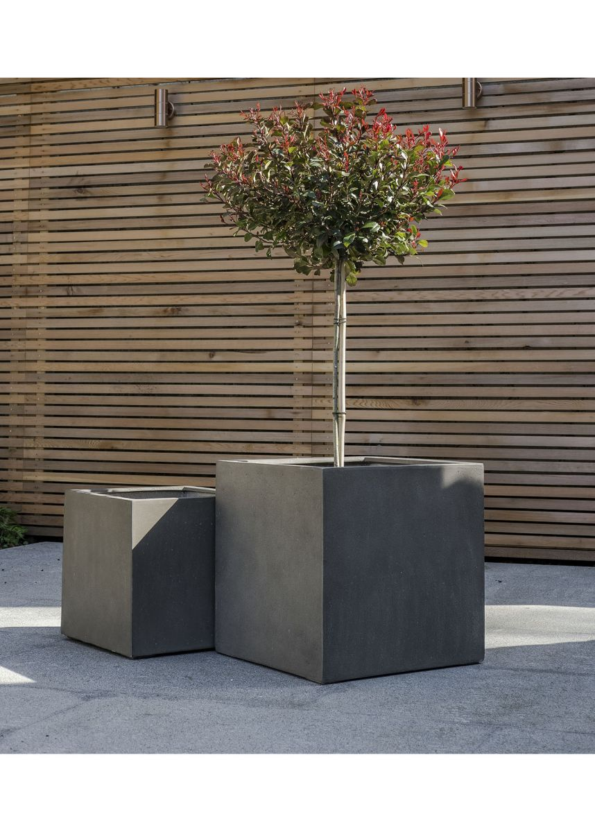 GRP 50cm and 40cm Square Planters