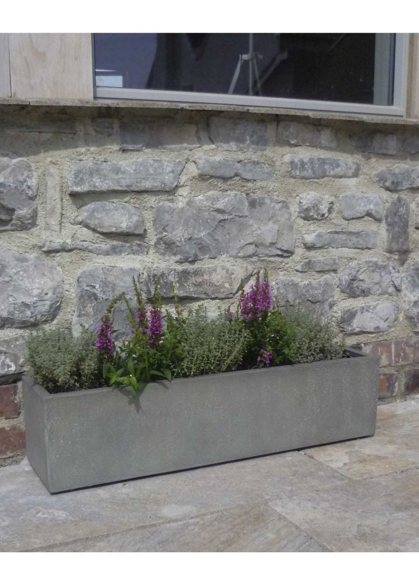 Long Narrow Window Planter Box