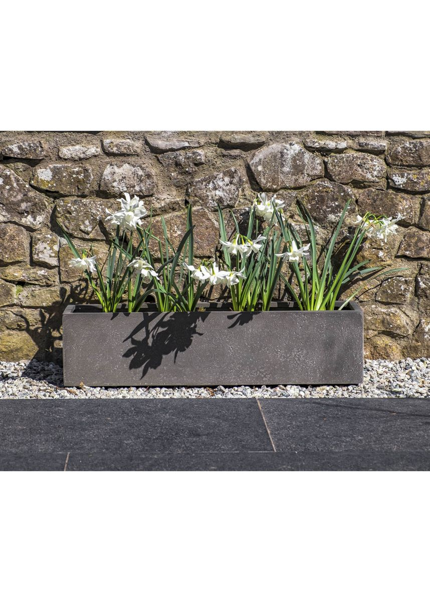 Narrow Trough Planter Window Box