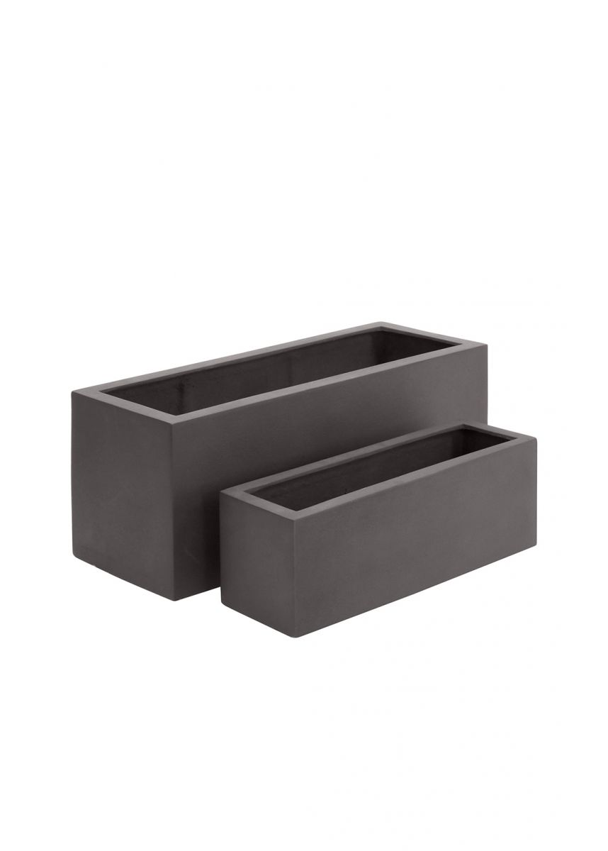 Small & Medium Trough Planters in Fibreglass