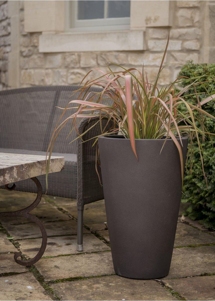 Round Garden Plant Pot