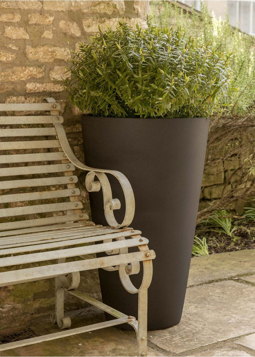 Espresso 80cm Outdoor GRP Planter