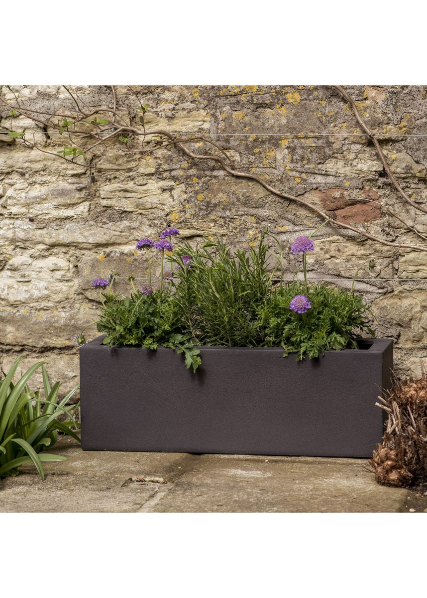 Espresso GRP Trough Garden Planter