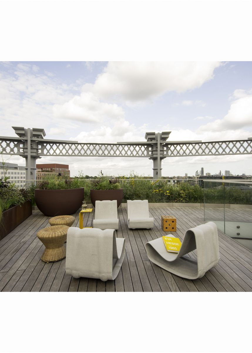 Roof garden furniture Roksanda Ilincic penthouse
