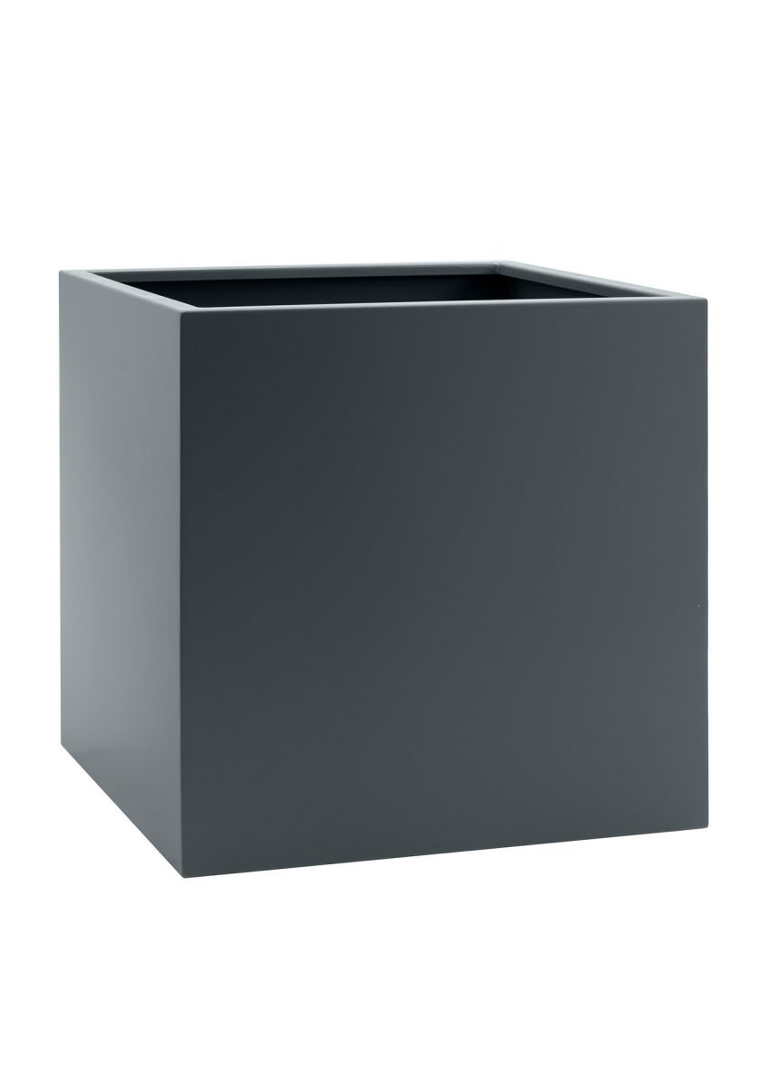 Anthracite grey dark outdoor planters