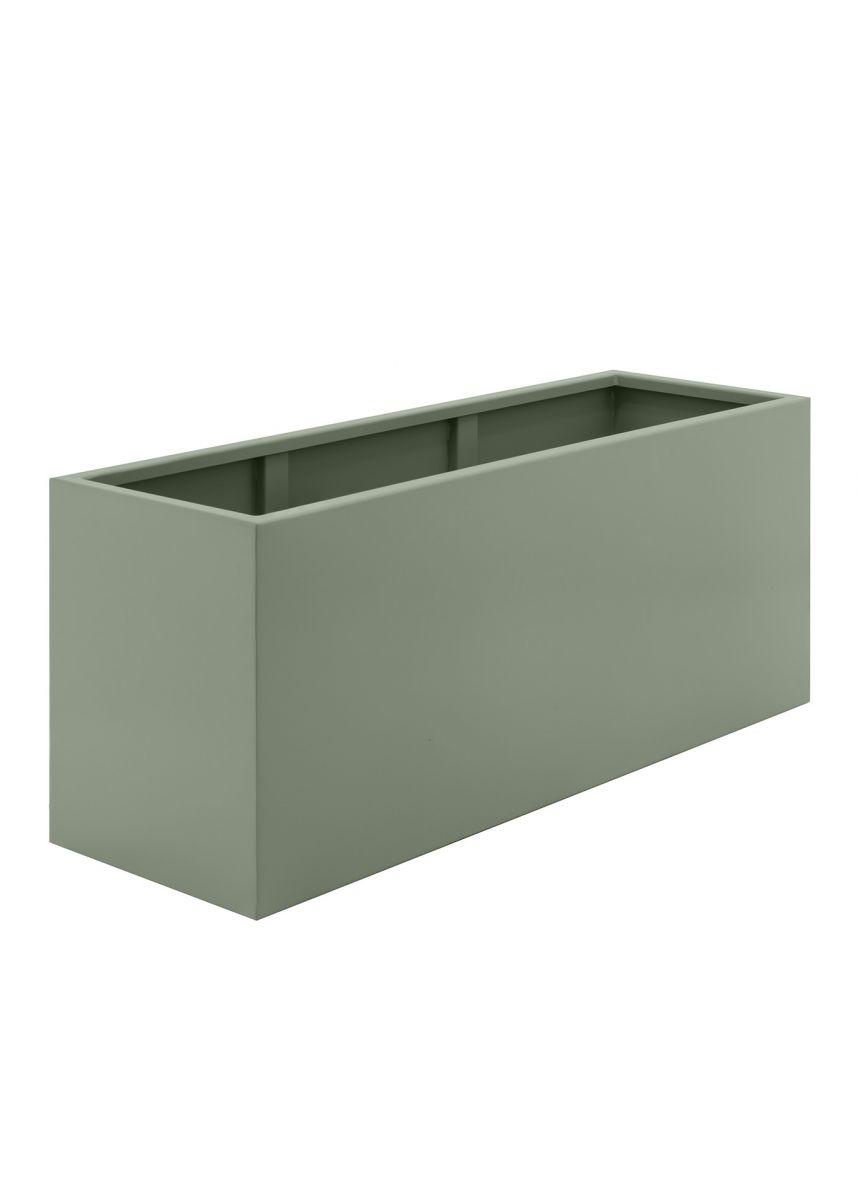 Cement grey large garden trough