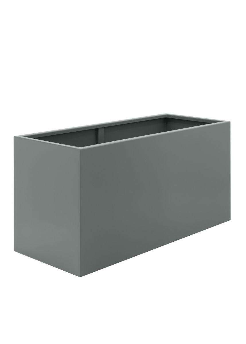 Mouse Grey Large Steel Planters