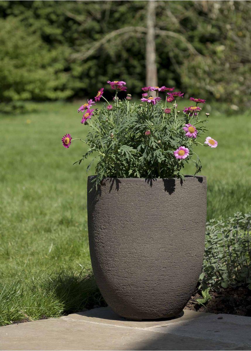 Roto 35cm Tall Round Plant Pot