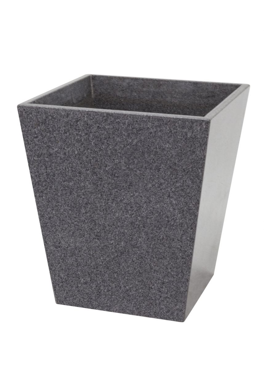Short Tapered Granite Planters