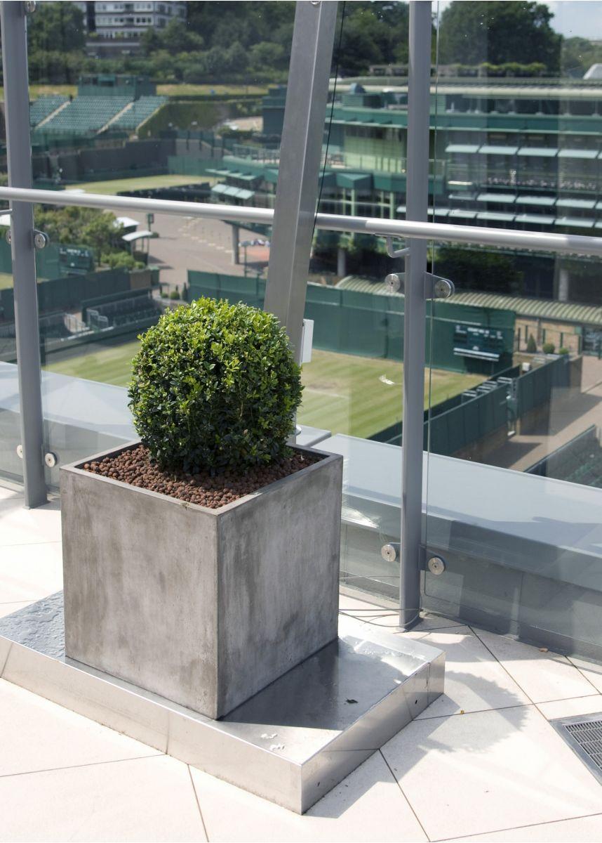 Fresco 40cm cube planter
