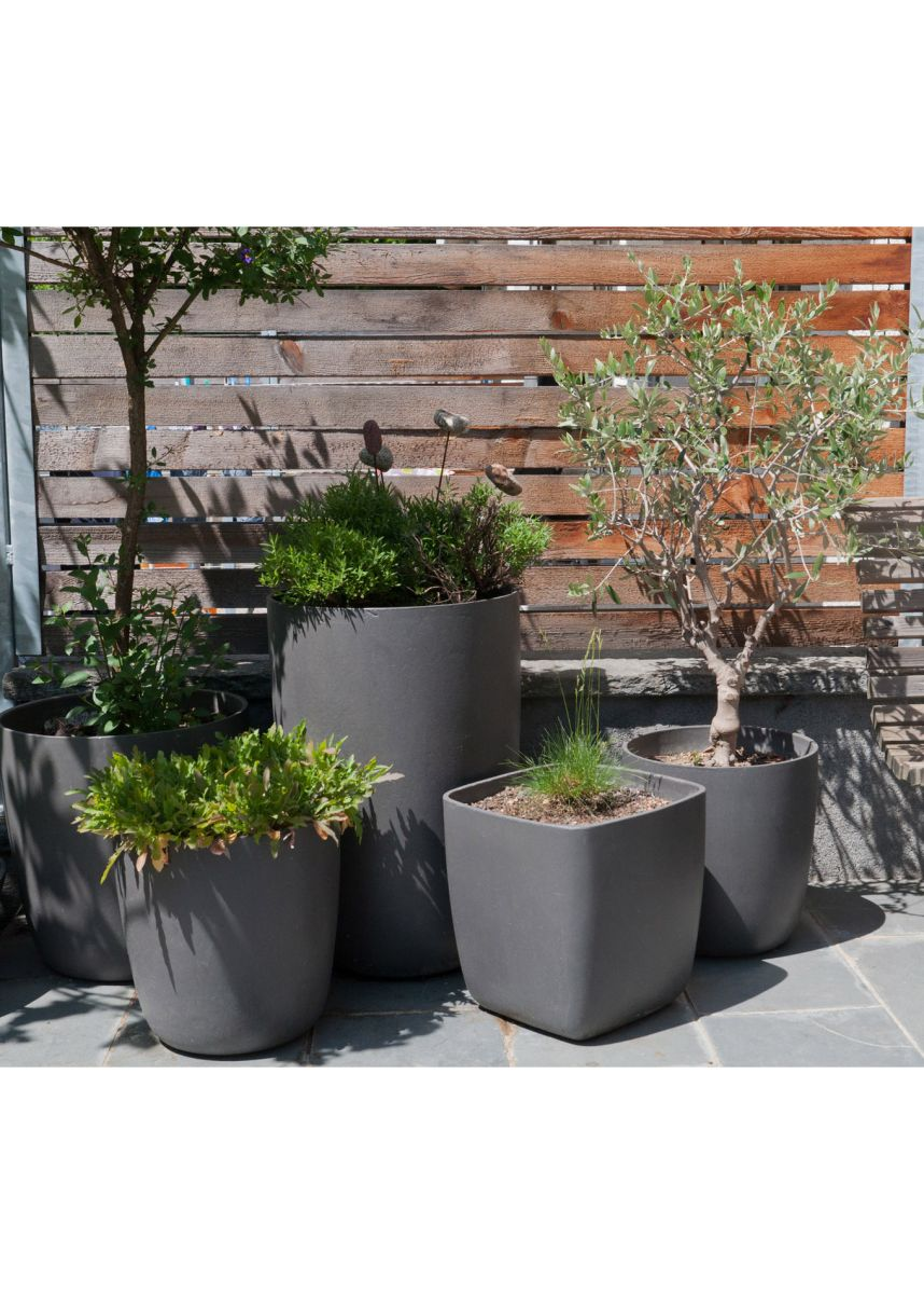Eternit planters and plant pots