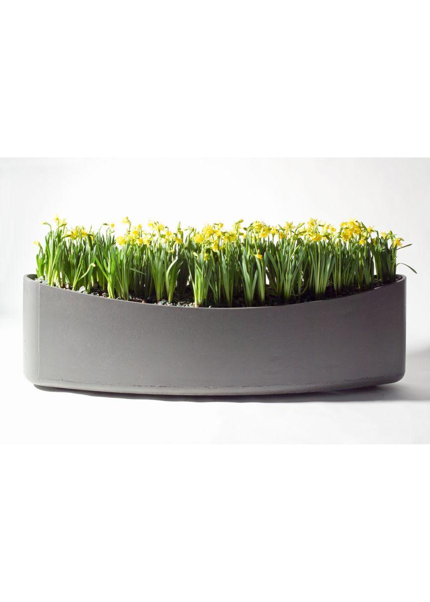Long slim planters in FRC