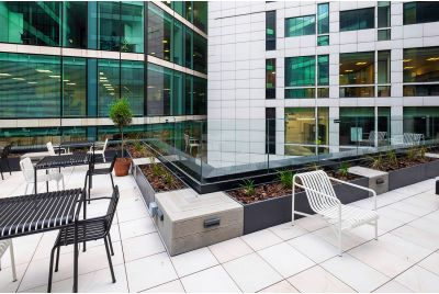 Bespoke low level planters and seating