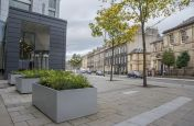 Steel Powder Coated  Planters Edinburgh