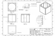 lead tree planters CAD design