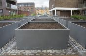 Bespoke Steel Grid Planters London